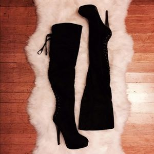 Bebe over-the-knee boots